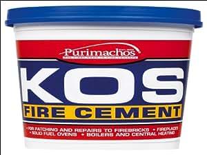 Everbuild kos-refractory mortai EVBKOSBUF500500g KOS, marrone chiaro, PCKOSFIRE05-EBD