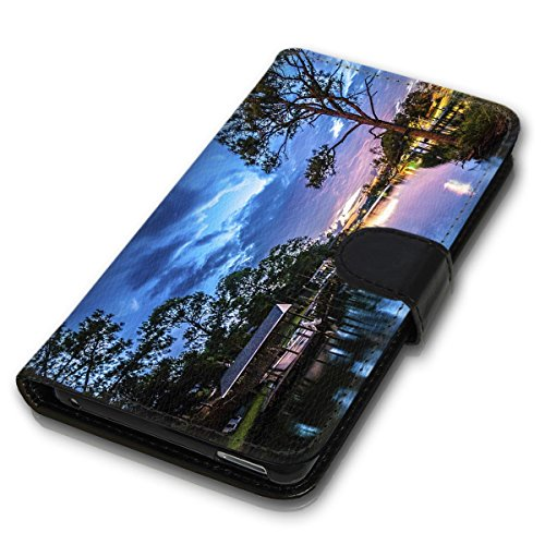 Wallet Book Style Flip Handy Tasche Case Schutz Hülle Schale Motiv Etui für Apple iPhone 4 / 4S - Variante UMV3 Design12 Design 3