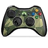Microsoft Xbox 360 Controller Folie Skin Sticker aus Vinyl-Folie Aufkleber Camouflage Muster Tarnfarben