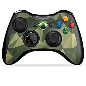 DeinDesign Skin kompatibel mit Microsoft Xbox 360 Controller Aufkleber Folie Sticker Camouflage Muster Tarnfarben
