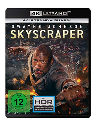 Skyscraper (4K Ultra HD) (+ Blu-ray 2D)