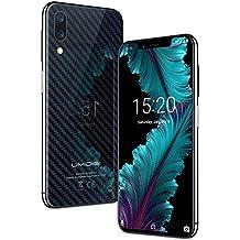 """UMIDIGI ONE, Smartphone 5.9"""" Schermo Notch (rapporto 19: 9), Dual SIM 4G, Android 8.1, Helio P23 Octa Core, 4GB+32GB, Batteria 3550mAh Cellulare, Face ID, Triple Camera(16MP+5MP+12MP) - Carbon Fiber"""