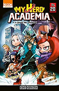 My Hero Academia Edition simple Tome 20