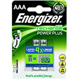 Energizer - 635177 - Pile Rechargeable Power Plus 2 HR03 850 mAh