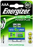 Energizer Recharge Power Plus - Batterie 2 x AAA NiMH 850 mAh