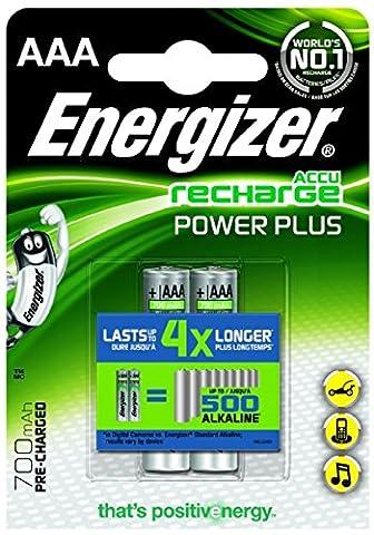 Energizer HR 03 AAA Accu Micro 700 mAh 2er