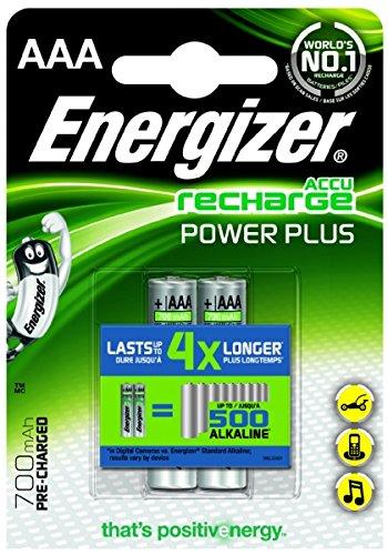 Energizer - 635177 - Pile Rechargeable Power Plus 2 HR03 850 mAh