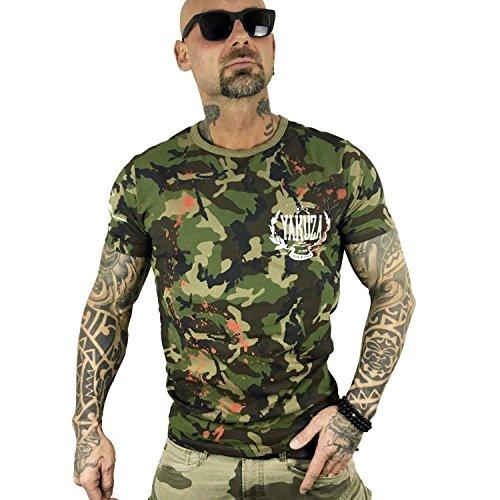 Yakuza Original Herren Killed By Fame T-Shirt Camouflage