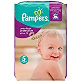 Pampers Premium Protection Active Fit Windeln Gr.5 (Junior) 11-25 kg Monatsbox, 136 Stück