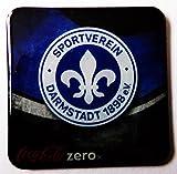 Coca Cola Zero - Fußballvereine - Sportverein Darmstadt 1898 e.V. - Kühlschrankmagnet 6 x 6 cm