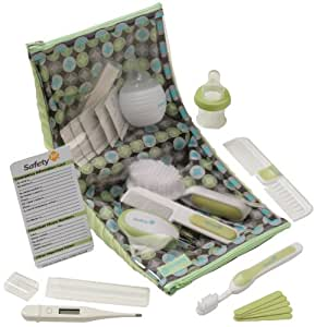 Safety 1st Deluxe Healthcare and Grooming Kit, Spring Green (Discontinued by Manufacturer) by Safety 1st