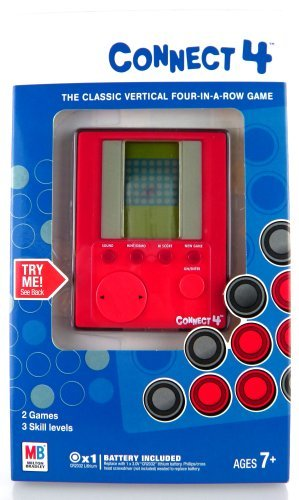 Connect 4 Electronic Handheld Game MB Hasbro