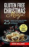 Gluten-Free Christmas Magic: 25 Gluten-Free, Easy-to-bake, Low-Fat,Low-Carb, VEGAN Recipes for Christmas Countdown: Plus! A Christmas Dinner Special