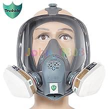 SJL 6800Full Face máscara de gas cara mascarilla pulverización pintura máscara