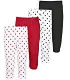 #3: Minnow Girls Solid and Heartin Printed 3/4th Capris(4-5 Years to 14-15 Years)