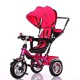 Little Bambino BW204 Tricylce Kinderwagen, rosa