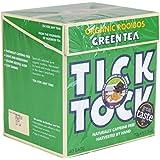 Tick Tock - Té Verde Rooibos Orgánico - 40 Bolsas (Paquete de 4 - 160 bolsas)