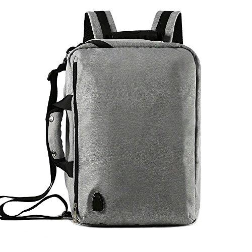 b588f97cfd80d T-homeidea Schultertasche Multifunktionale Wiederaufladbare Rucksack  Einfache Mode Reiserucksack Männer Student Business Computer Tasche Große
