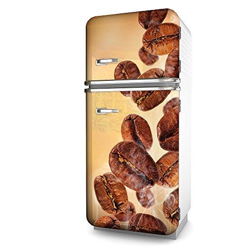 Kühlschrank-Folie Coffee selbstklebend mehrere größen | Sticker-folie | Klebefolie | Kühlschrank-Aufkleber | Front-folie | Dekoration | Küche | Deko-folie | Möbel-folie | Vinyl-folie