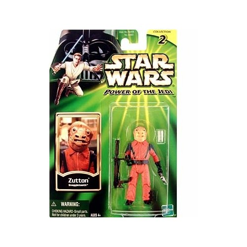 Star Wars: Power of the Jedi _ Zutton (Snaggletooth) Action Figure