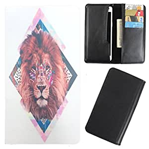 DooDa - For Karbonn A19 PU Leather Designer Fashionable Fancy Case Cover Pouch With Card & Cash Slots & Smooth Inner Velvet