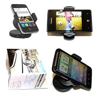 ebestStar - SUPPORT VOITURE universel téléphone portable / GPS / PDA / PSP / iPod / iPhone / MP3 / MP4 ventouse pare-brise