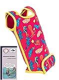 Ideen rund ums Kind Babywarma/Warma 0M-BW-241, Meerestiere auf Pink, 0-6 Monate