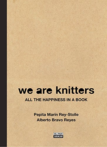 WE ARE KNITTERS: All the happiness in a book (Ocio y tiempo libre)