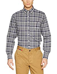 Gant Men's Brushed Oxford Check Casual Shirt
