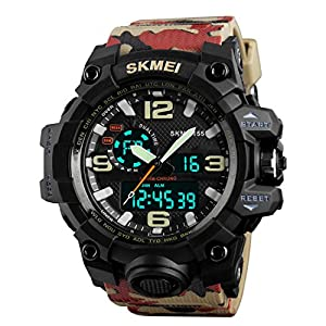 SKMEI Sports Analog-Digital Multi-Colour Dial Men's Watch – SkmeiMW52