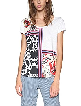 Desigual TS_DEO, Camiseta para Mujer