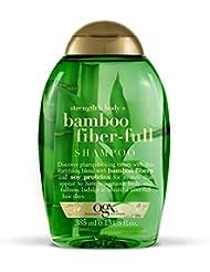 ORGANIX Ogx Shampooing Bambou Fibre 385 ml - Lot de 3