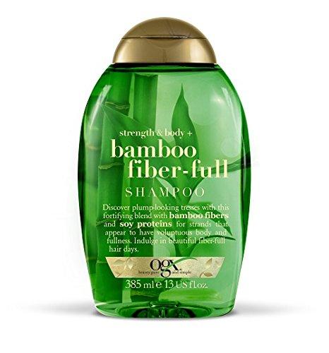 OGX Strength and Body with Bamboo Fiber-Full Shampoo, 385 ml