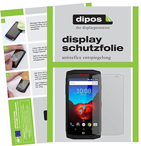 dipos I 6X Schutzfolie matt passend für Crosscall Trekker-X3 Folie Bildschirmschutzfolie