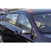 Autoclover BMW Serie 5 F10 2010 + Set de deflectores de Viento (4 Piezas) (Moldeado)