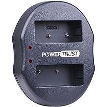 PowerTrust NP-W126 USB Dual Charger for Fujifilm FinePix HS30EXR HS33EXR HS50EXR X-A1 X-E1 X-E2 X-M1 X-Pro1
