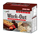 #1: Rite Bite Work Out Sugar Free Energy Bar - 50 g (Choco Berry, Pack of 6)