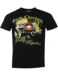 Good Charlotte Official The Young & the Hopeless T-Shirt Mens Blk Top Tee Shirt