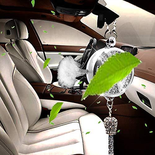 VILLSION Auto Logo Deodorante Fragranza Profumo Specchietto retrovisore Auto Pendente con Confezione Regalo