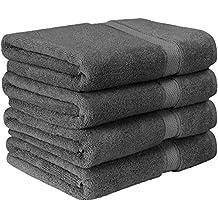 Utopia Towels - Premium conjunto de toallas de baño (Paquete de 4, 69 x