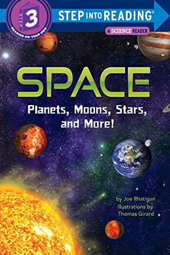 Space: Planets, Moons, Stars, and More! (Step into Reading) (English Edition)