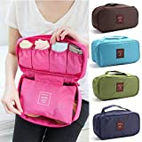 Inditradition Multipurpose Travel Storage Bag | for Undergarments, Innerwear, Toiletries & Travels Cosmetics (Assorted Color)