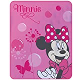 Minnie Maus / Disney Fleecedecke 110 X 140 cm rosa Decke Kuscheldecke Fleecedecke Decke Kuscheldecke für Kinder Minnie Mouse
