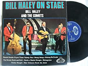 Bill Haley on stage (& the Comets; #771) / Vinyl record [Vinyl-LP]