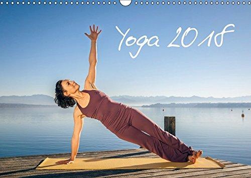 Yoga (Wandkalender 2018 DIN A3 quer): Meditatives Yoga am See (Monatskalender, 14 Seiten) (CALVENDO Sport) [Kalender] [Apr 01, 2017] Gann (magann), Markus