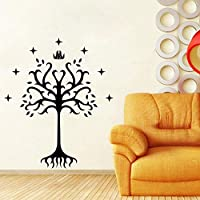 BomdowTree Vinyl Decal Sticker from Lord of The Rings for Car Window, Laptop, Motorcycle, Walls, Mirror and More 60X50 cm