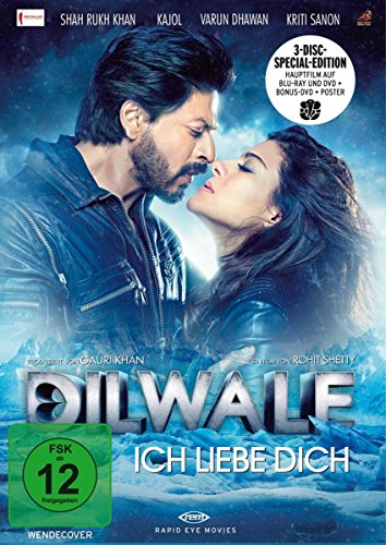 Dilwale – Ich liebe Dich (Limitierte Special Edition) [Blu-ray] [Limited Edition]