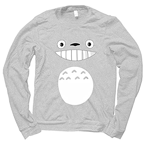Sweat Totoro - Totoro body Sweatshirt (GREY,