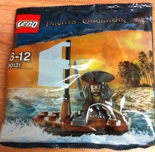 LEGO Pirati Dei Caraibi: Jack Sparrow's Barca Set 30131 (Insaccato)