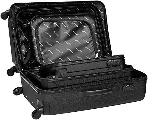 Packenger Line Koffer, Trolley, Hartschale  3er-Set in Schwarz, Größe M, L und XL - 10